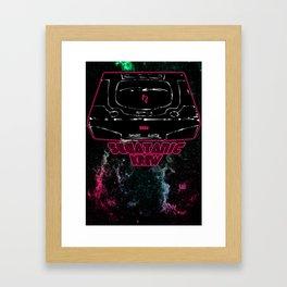 SEGA SEGATANIC SATURN Framed Art Print