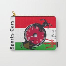 Ferrari, Maserati, Lamborghini : an italian trilogy. Vintage Decoration Print Poster Carry-All Pouch