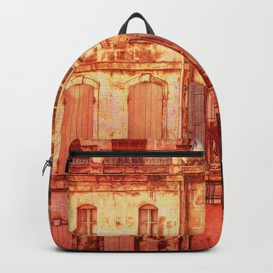 The Old Neighborhood, Rustic Buildings Backpack