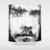 actor Shower Curtains featuring JARED by THE USUAL DESIGNERS