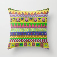 forever young Throw Pillows featuring Forever Young by Bianca Green