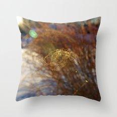 Curl Throw Pillow