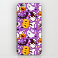 cryaotic iPhone & iPod Skins featuring Cryaotic [Halloween] by Velvetcat09