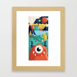 Here to There Framed Art Print