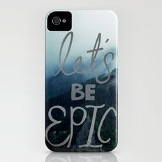Let's Be Epic Slim Case iPhone (4, 4s)