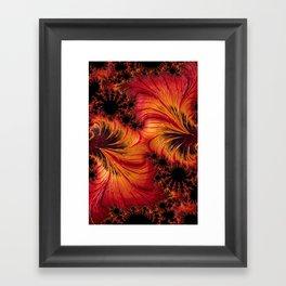 Hot Factal 2 Framed Art Print