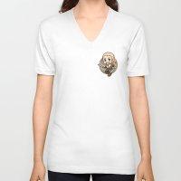 fili V-neck T-shirts featuring Fili by Kata (koomalaama)