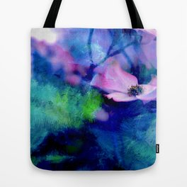 Paint, Petals & Branches Tote Bag