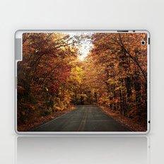 The Fall Road Laptop & iPad Skin