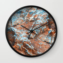 Minerals Wall Clock