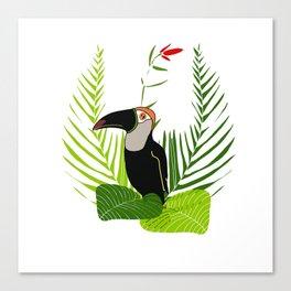 Proud toucan Canvas Print