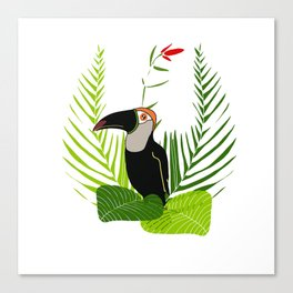 Proud toucan Canvas Print