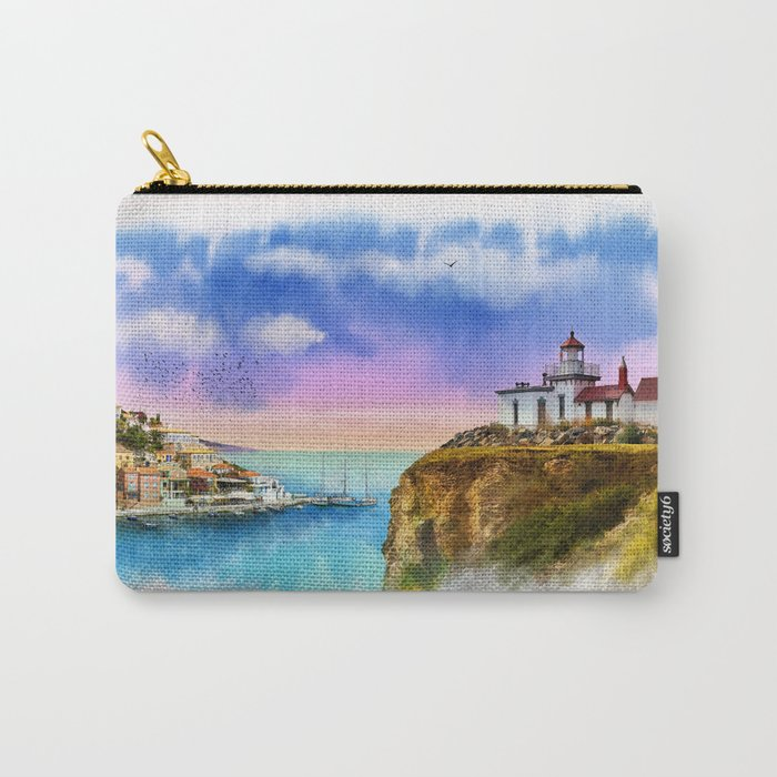 The Island Of Kefalonia, Greece Carry-All Pouch