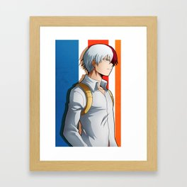 Todoroki Artwork Framed Art Print