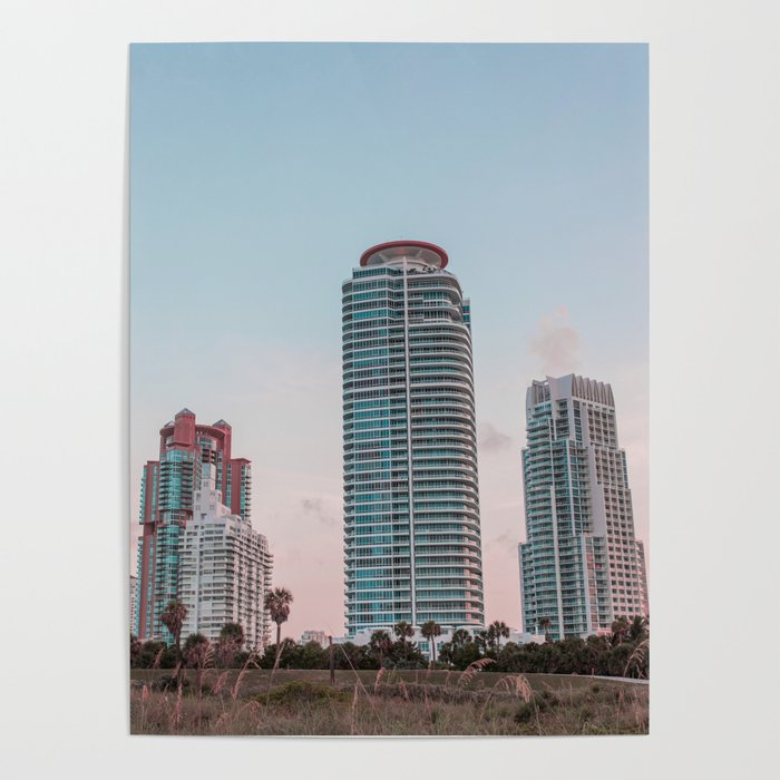 South Beach Miami Poster