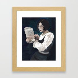 Daily Kindwords Framed Art Print