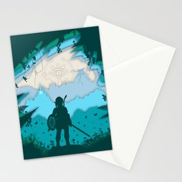 Breath of Warrior Stationery Cards