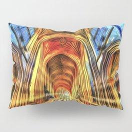 Bath Abbey Sun Rays Van Goth Pillow Sham