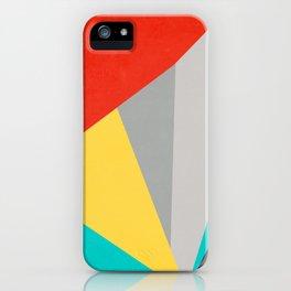 Aggressive Color Block iPhone Case