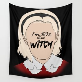 That Witch, Sabrina Wall Tapestry
