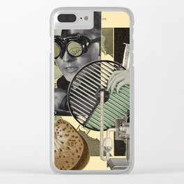 ONE THIRD Clear iPhone Case