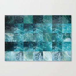 Abstract sea Canvas Print
