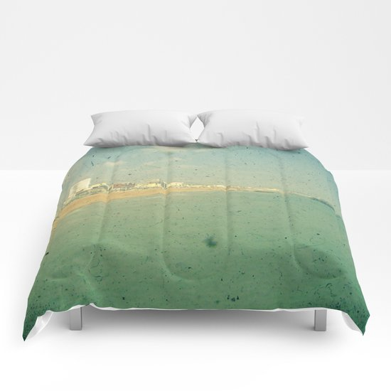 City by the Sea Comforters