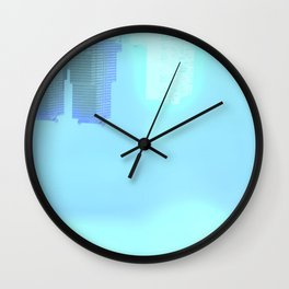 Fly: Glimpse Under Water Wall Clock