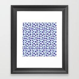 Carpe Diem Triangles Framed Art Print