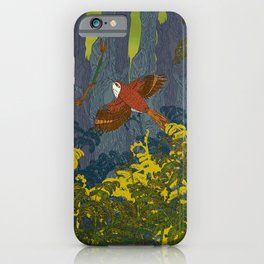 Can't See the Wood for the Treecreepers iPhone Case