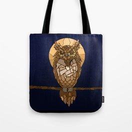 Mosaic Owl Tote Bag