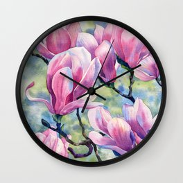 """""""Magnolia"""" Wall Clock"""