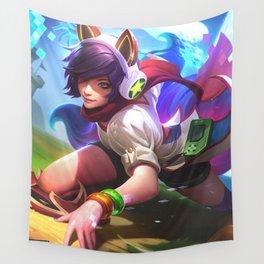 Gamer girl Wall Tapestry