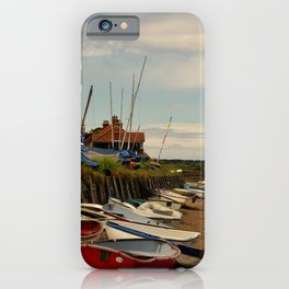 The Harbour - Burnham Overy Staithe iPhone Case