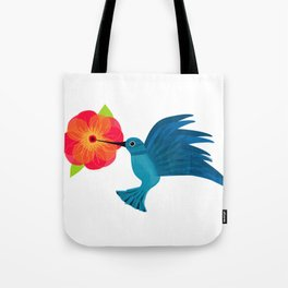Hummingbird in Flight Tote Bag