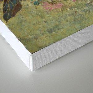 flower【Japanese painting】 Canvas Print
