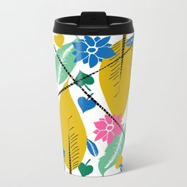 Feathers and leafs Travel Mug