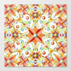 Suzani Textile Canvas Print