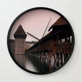 The Chapel Bridge Wall Clock