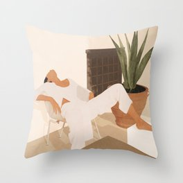 Summer Heat II Throw Pillow