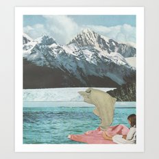 Lift Art Print