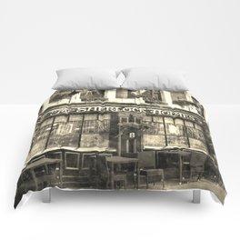 The Sherlock Holmes pub Vintage Comforters