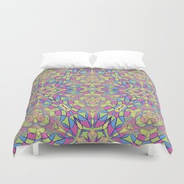 pattern of stained glass Duvet Cover