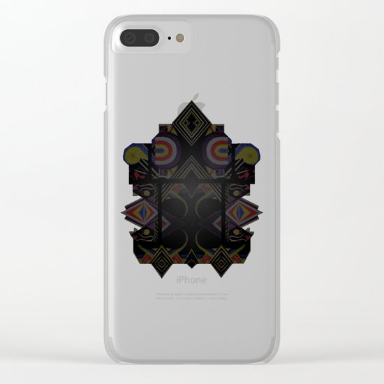 Mandalic Altar I Clear iPhone Case