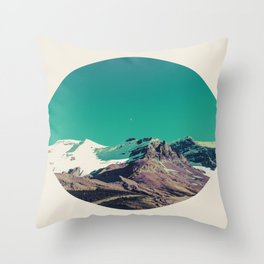 Mountains of Things Throw Pillow