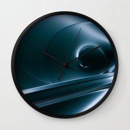 Cold Steel Wall Clock