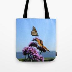velvet butterflies Tote Bag