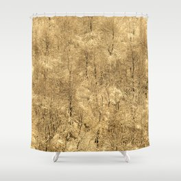 Winter time! Shower Curtain