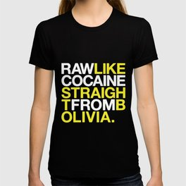 RAW LIKE COCAINE Music Drugs Bolivia Wu Tang Hip Hop T-shirt