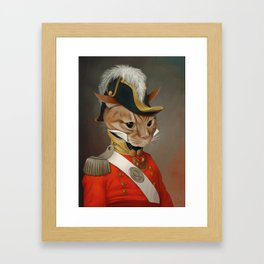 Sir Comet Thelonious, esq Framed Art Print